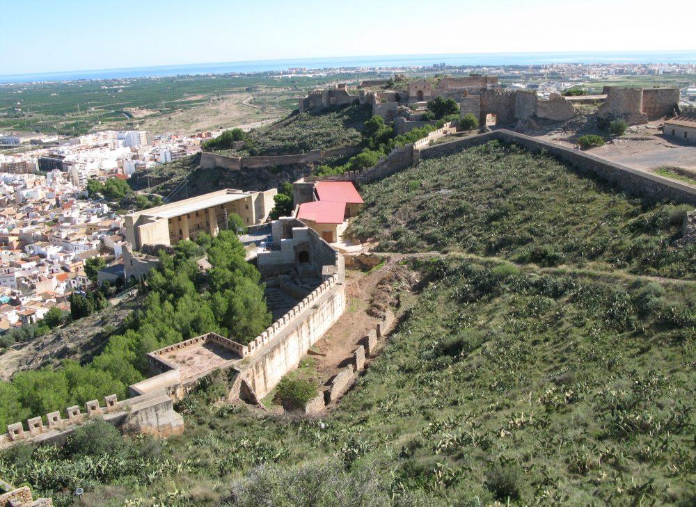 11_Sagunto_Vista General del Castillo. Monumento Nacional. Foto Francisco Agudo Fern+índez